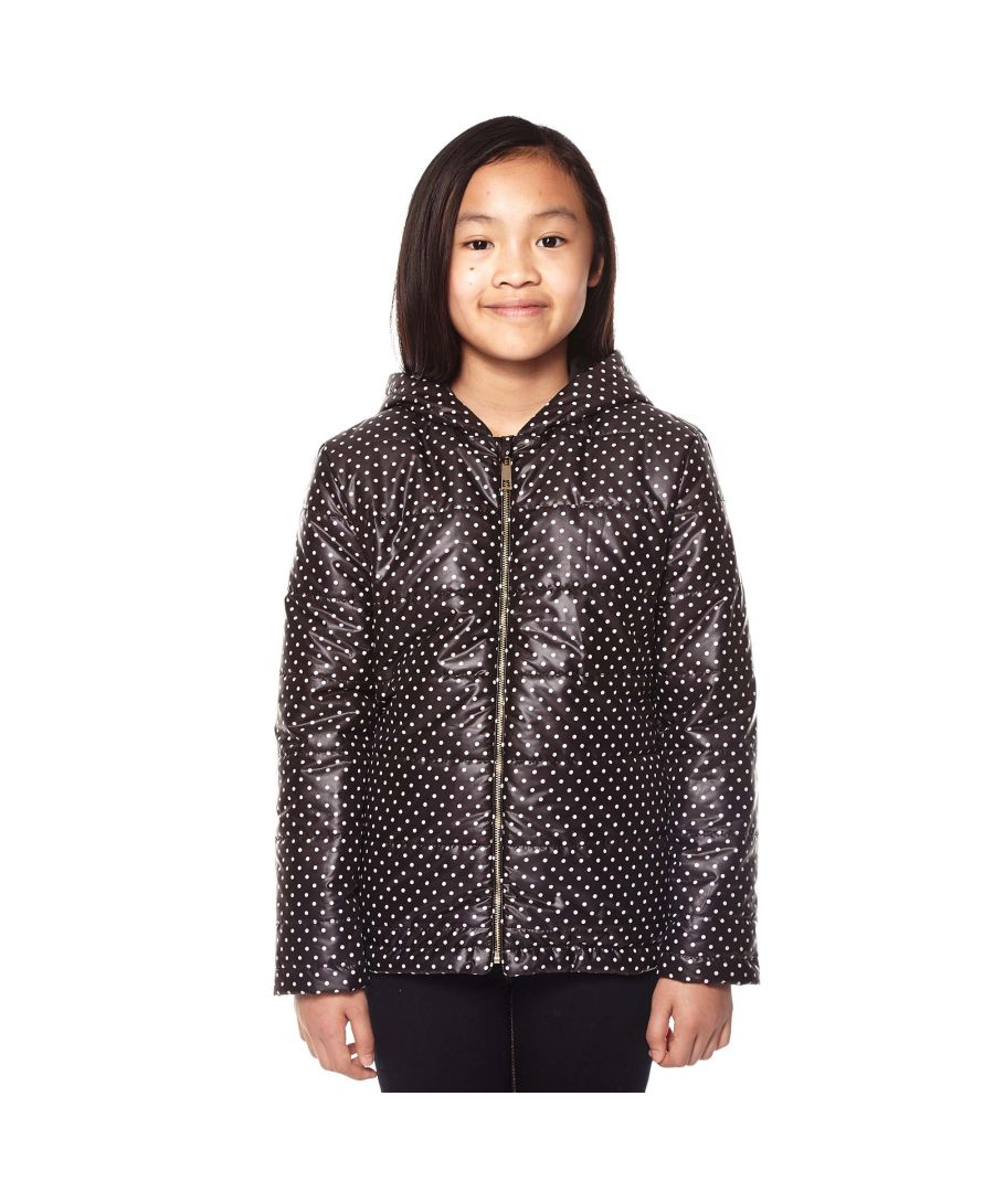 Image for Yumi Girls Polka Dot Quilted Jacket