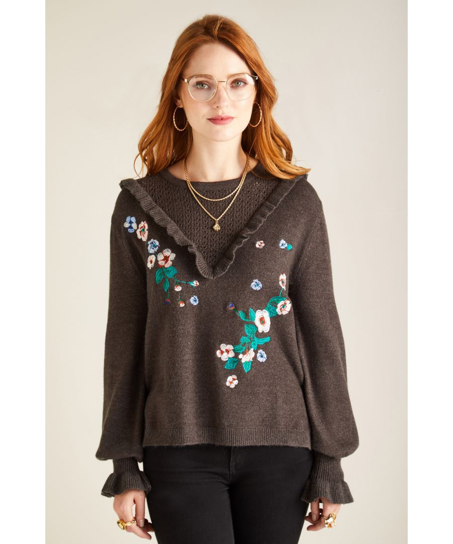 Image for EMBROIDERY JUMPER