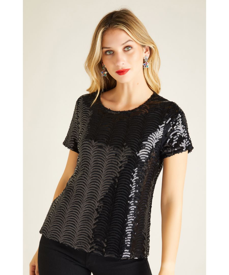 Image for Sequin Party Top