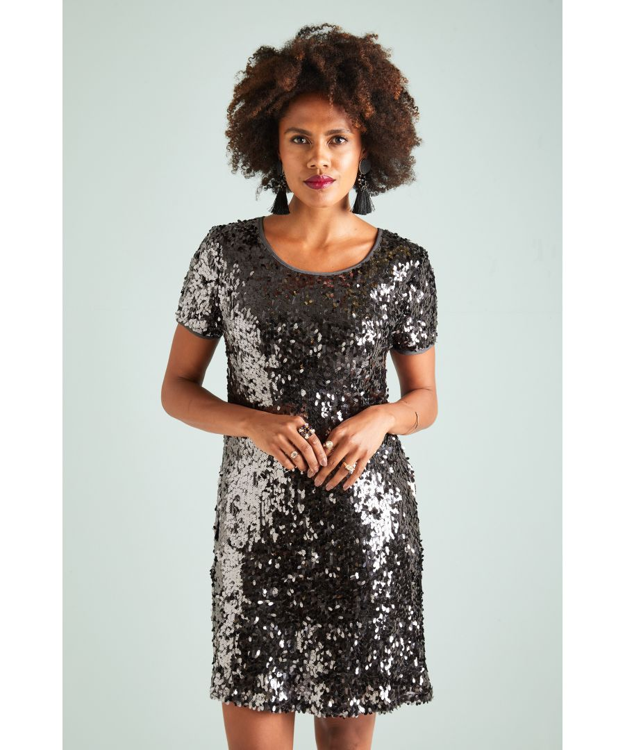 Image for Sequin Tunic Dress