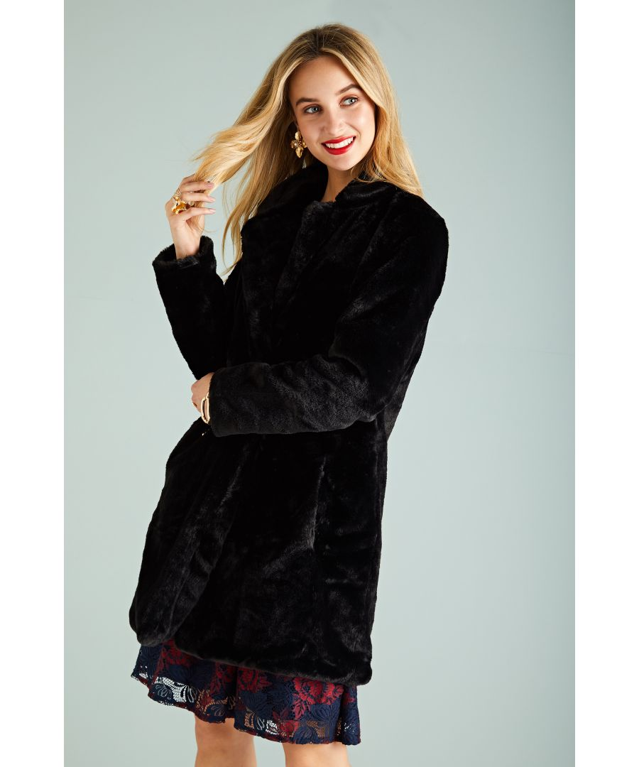 Image for Double Breasted Fur Coat