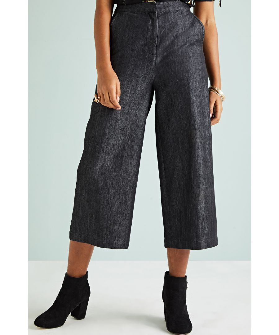 Image for Denim Culottes