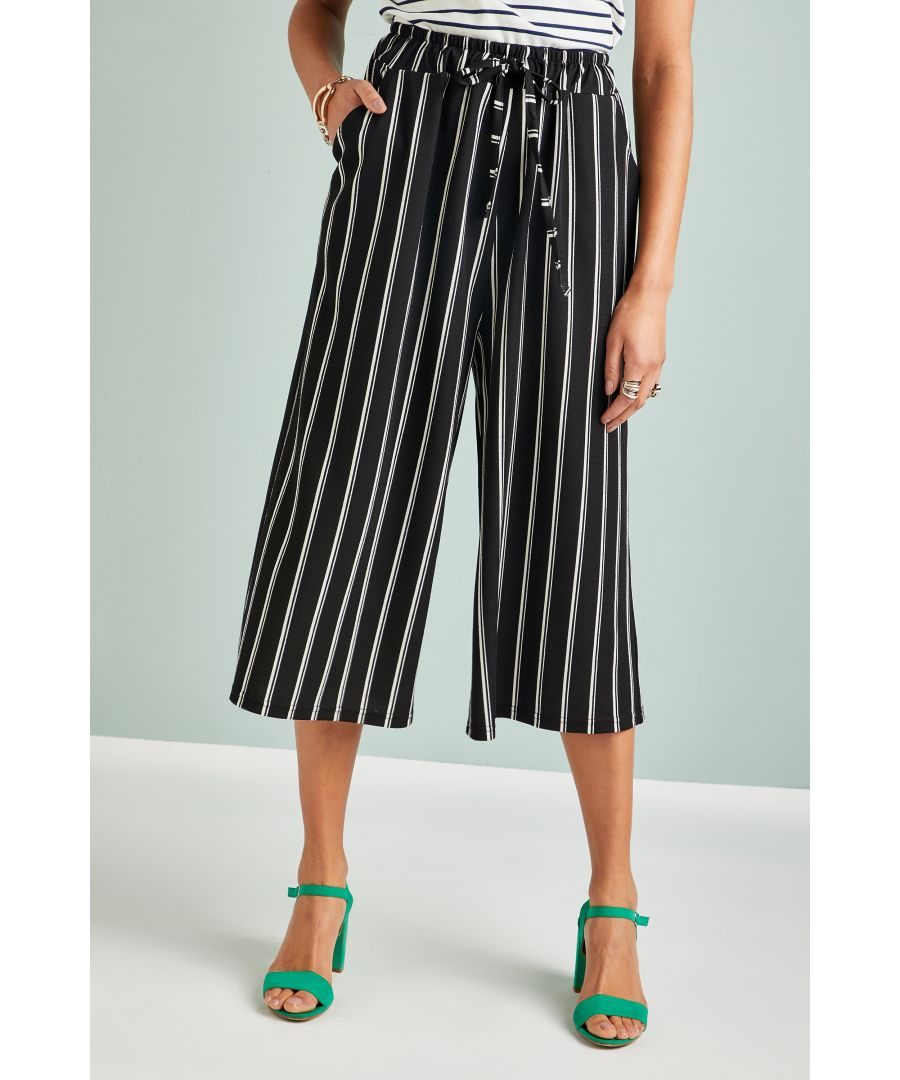 Image for Stripe Culottes