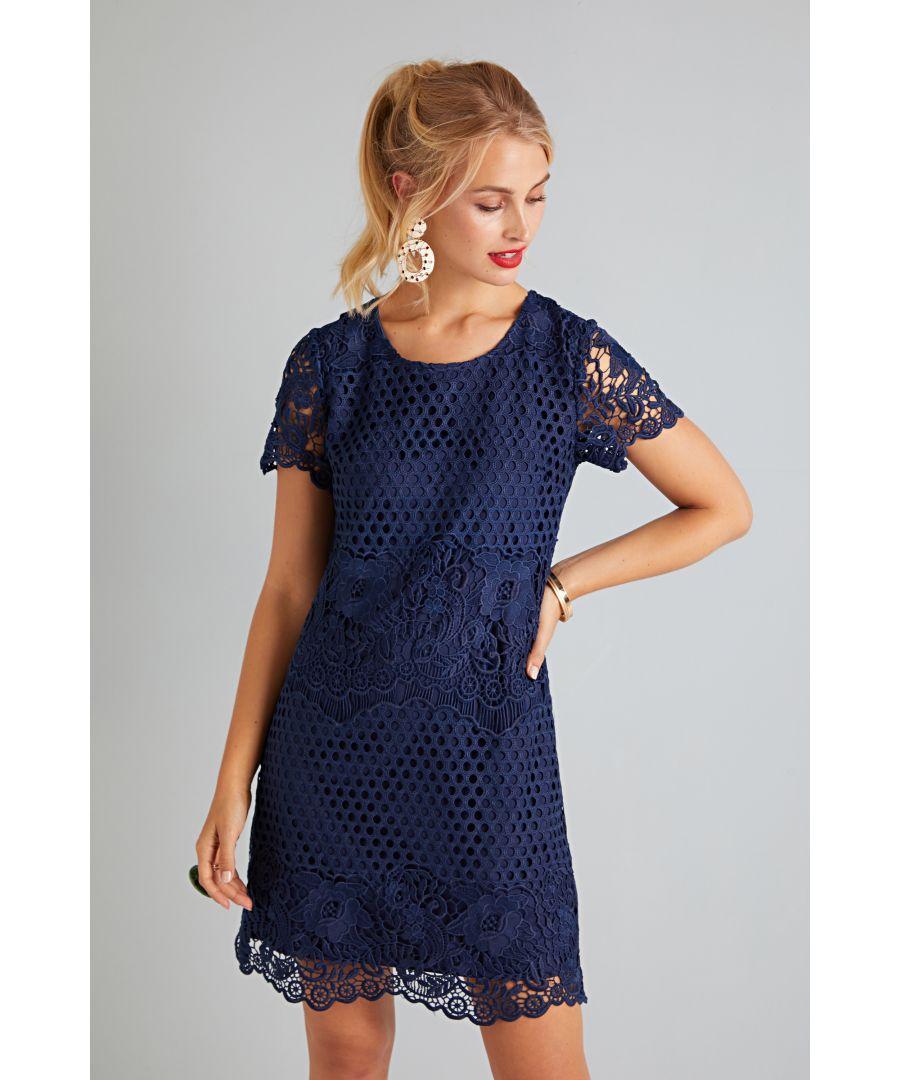 Image for Rose Print Tunic Dress