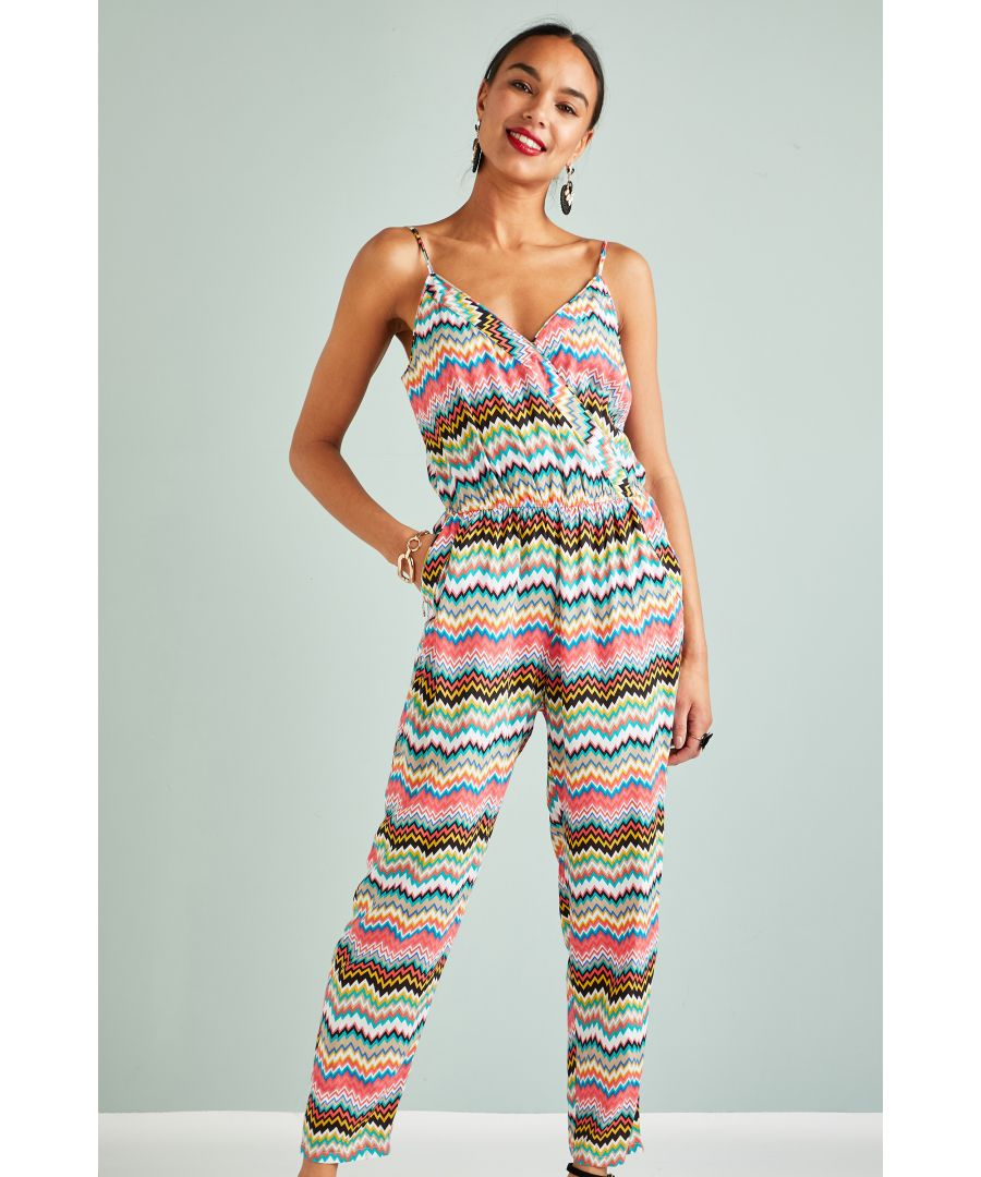 Image for Zigzag Printed Jumpsuit