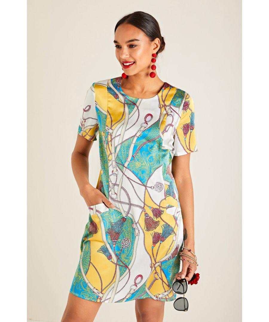 Image for Tassel Print Tunic