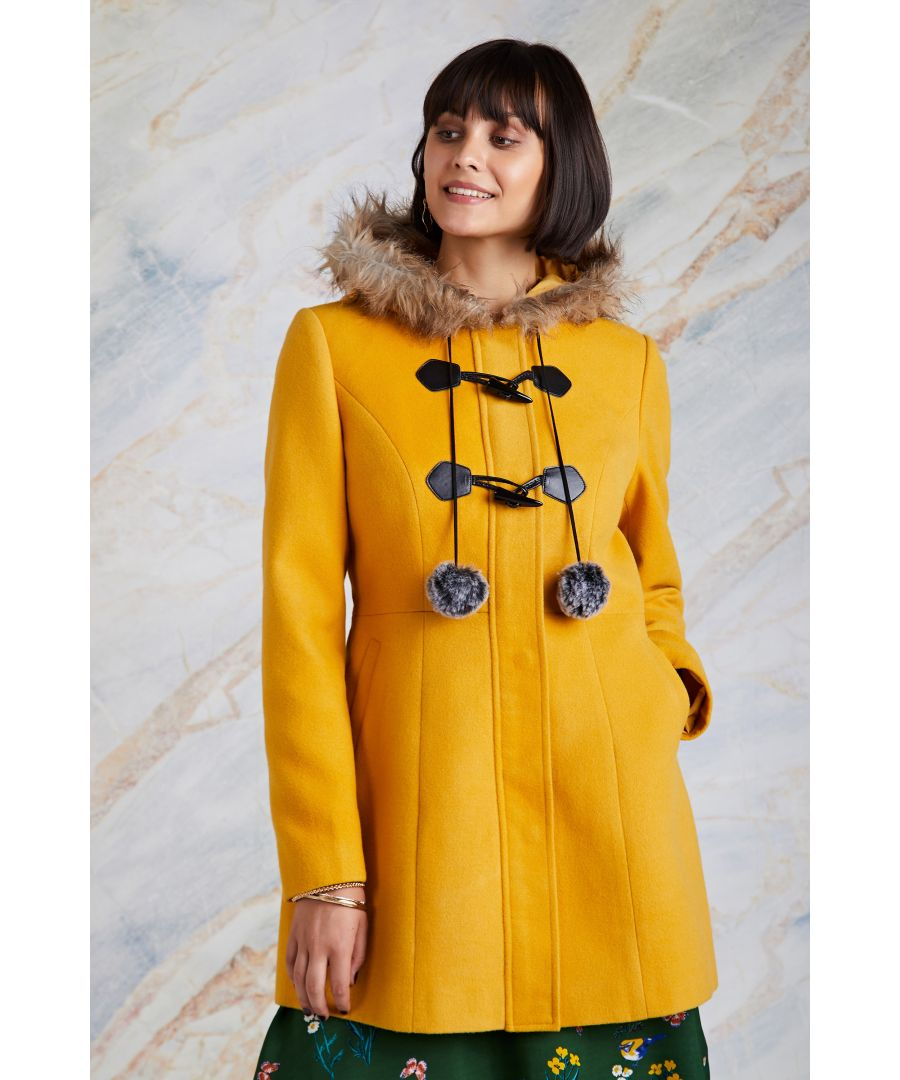 Image for Fur Trim Duffle Coat