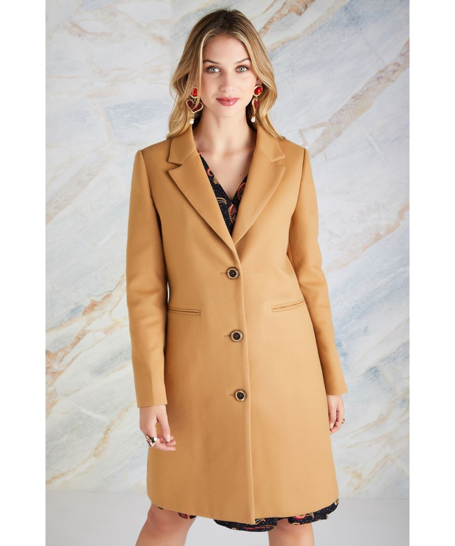 Image for Crombie Coat With Leopard Print Lining W