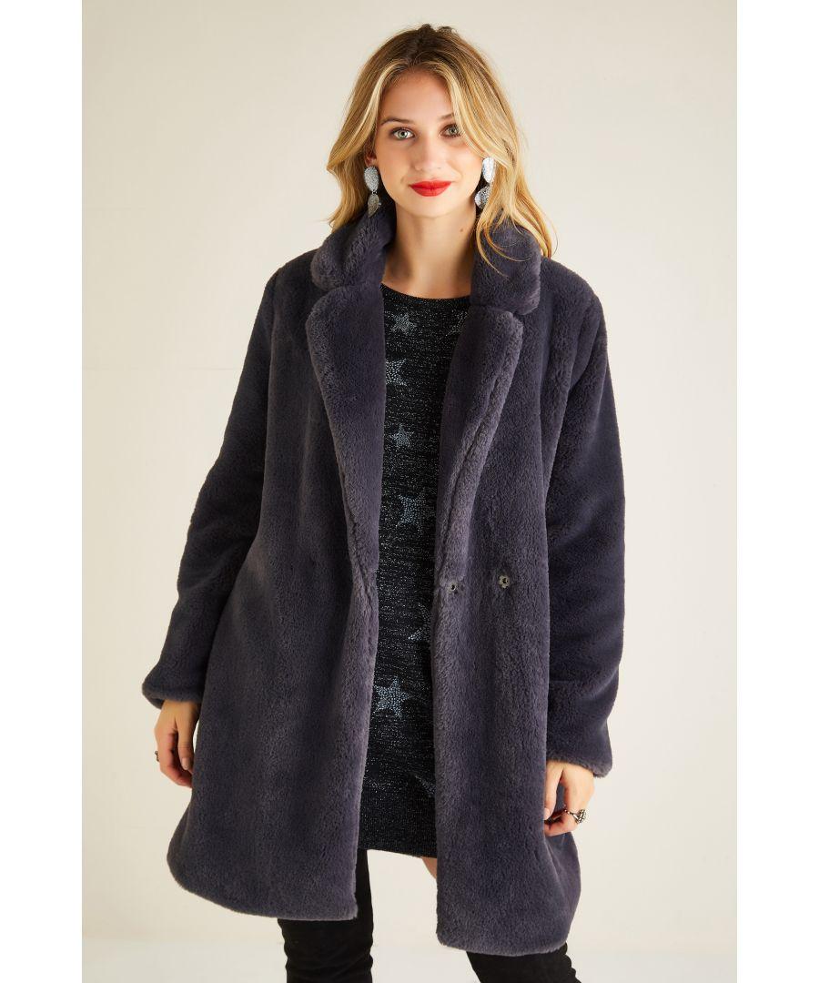 Image for Fur Collar Jacket