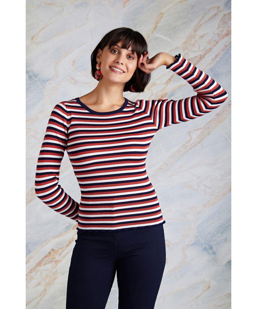 Image for Stripe Knit Jumper