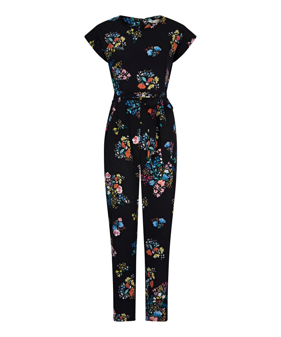 Image for Spring Time Floral Print Jumpsuit