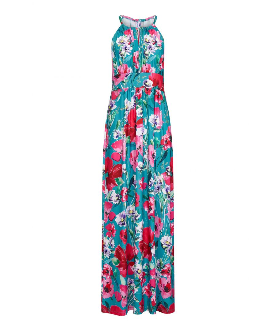 Image for Poppy Print Jersey Maxi