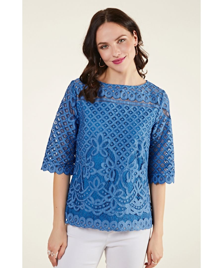 Image for Placement Lace Top