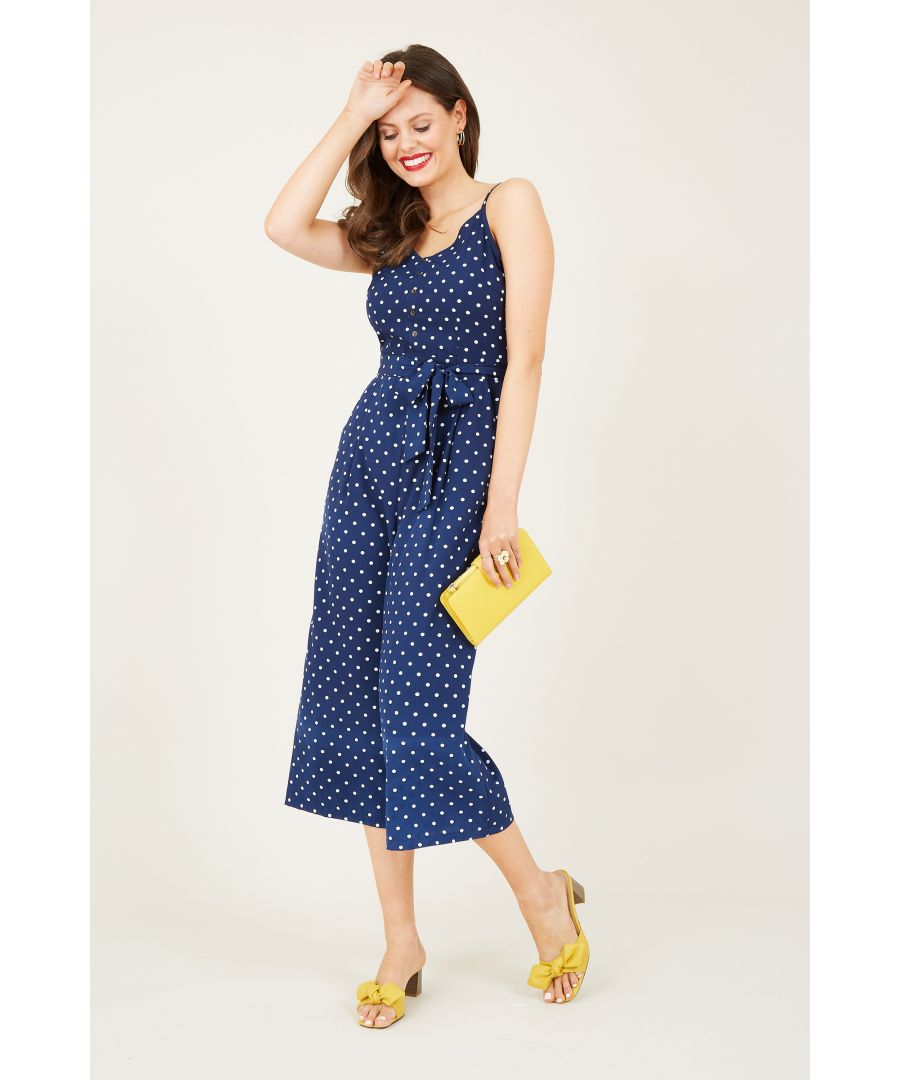 Image for Spot Print Jumpsuit