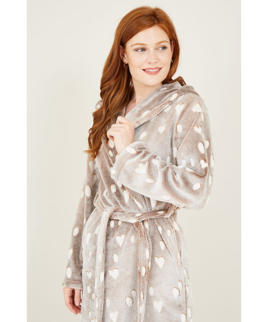 Image for Get Into The Festive Spirit With This Reindeer Fleece Robe