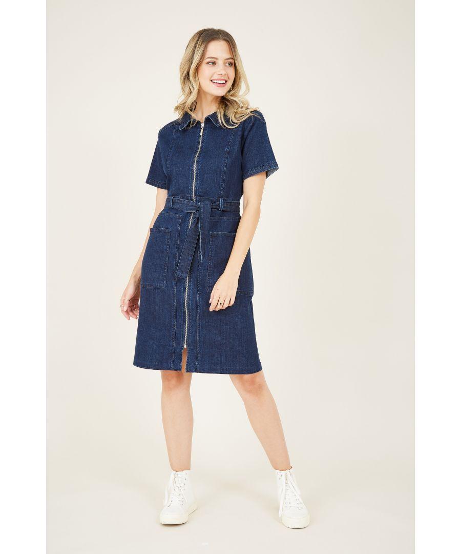 Image for Zip Shirt Dress