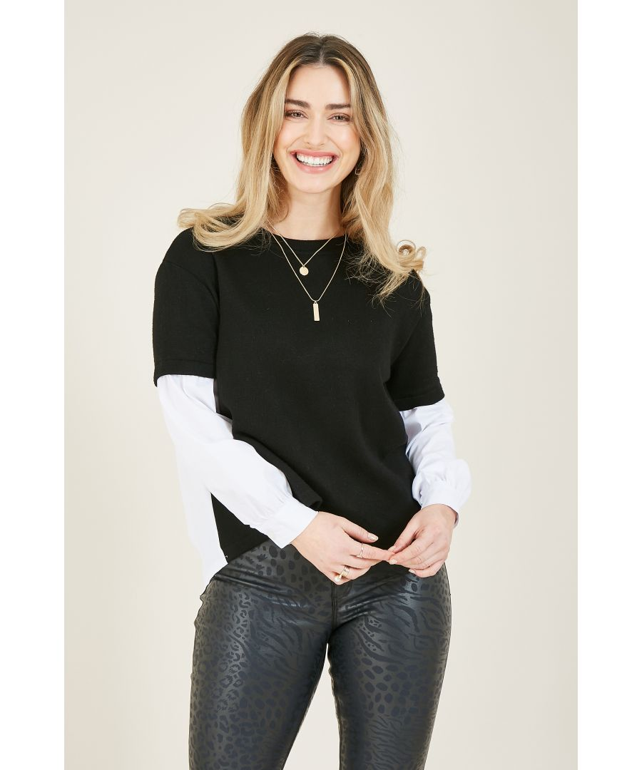 Image for YUMI Soft Touch Two In One Shirt Jumper