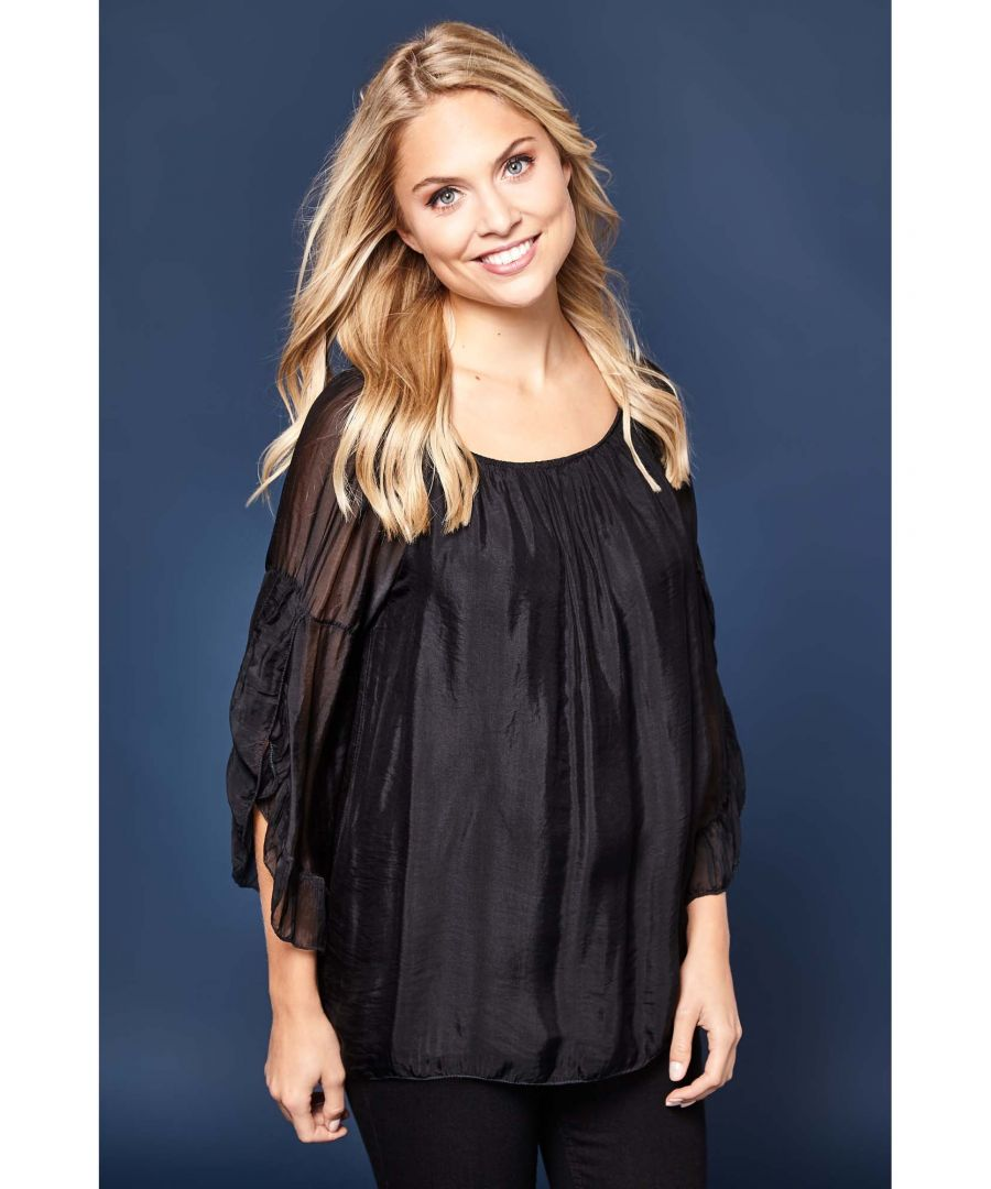 Image for Gypsy Ruched Neck Top