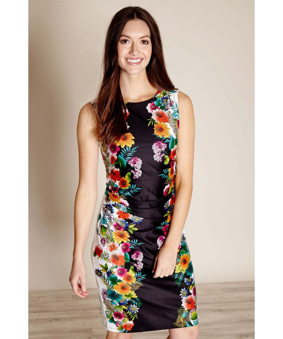 Image for Tropical  Mirror Print Dress