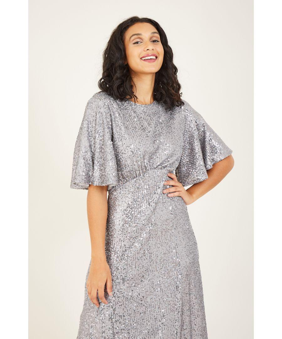 Image for Yumi Sequin Midi Dresss