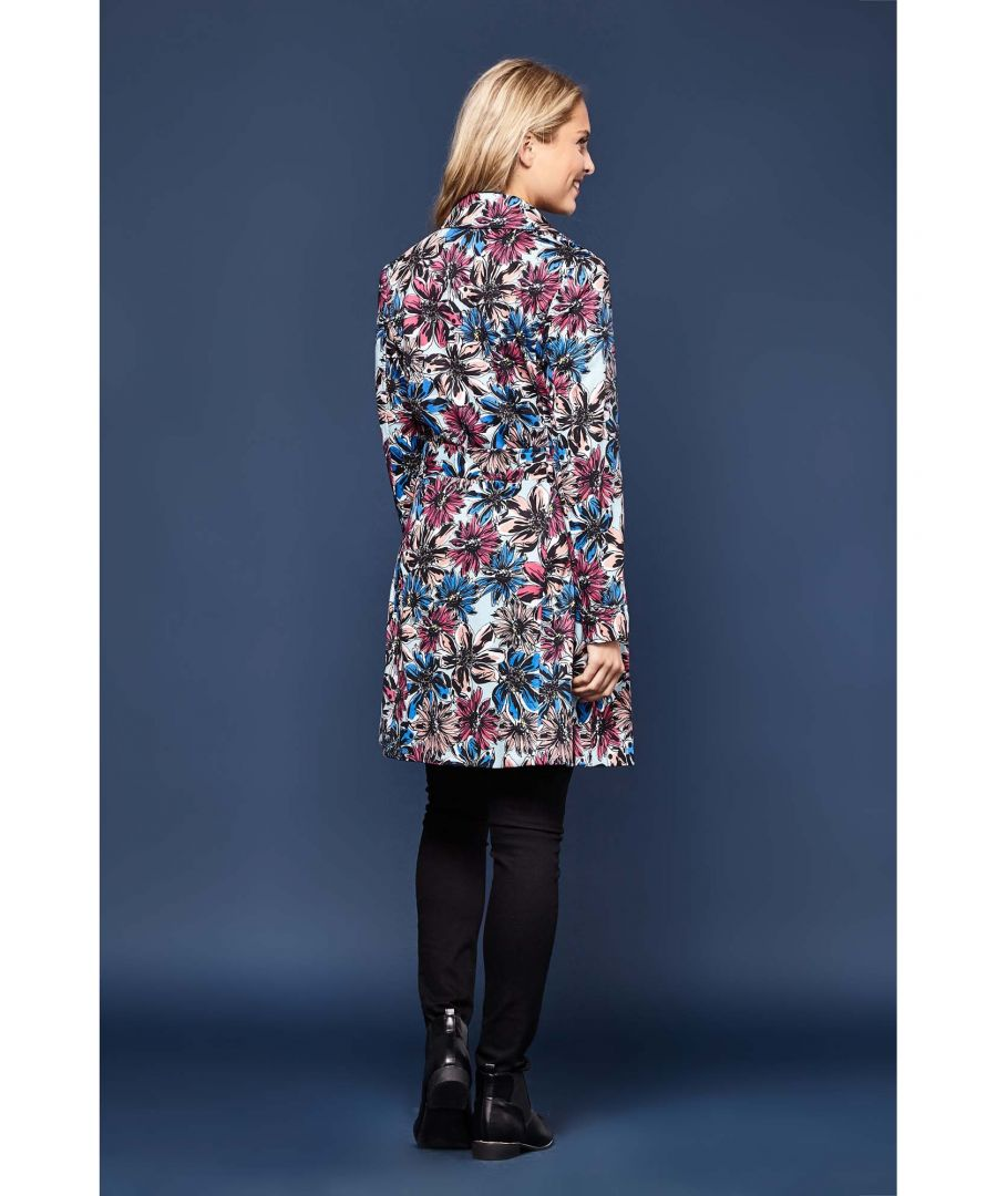 Image for BIG FLOWER PRINTED TRENCH