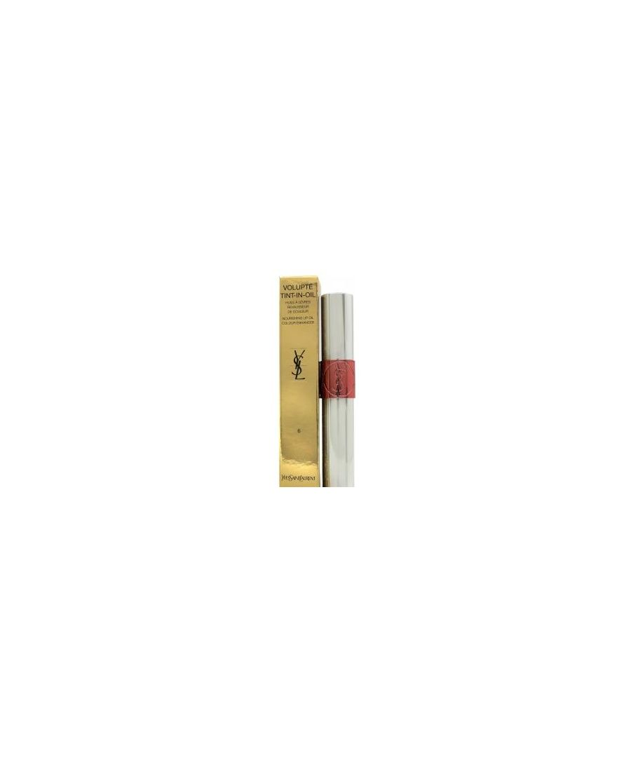 Image for YSL VOLUPTE TINT LIP OIL 06 PEACH ME LOVE 6ML