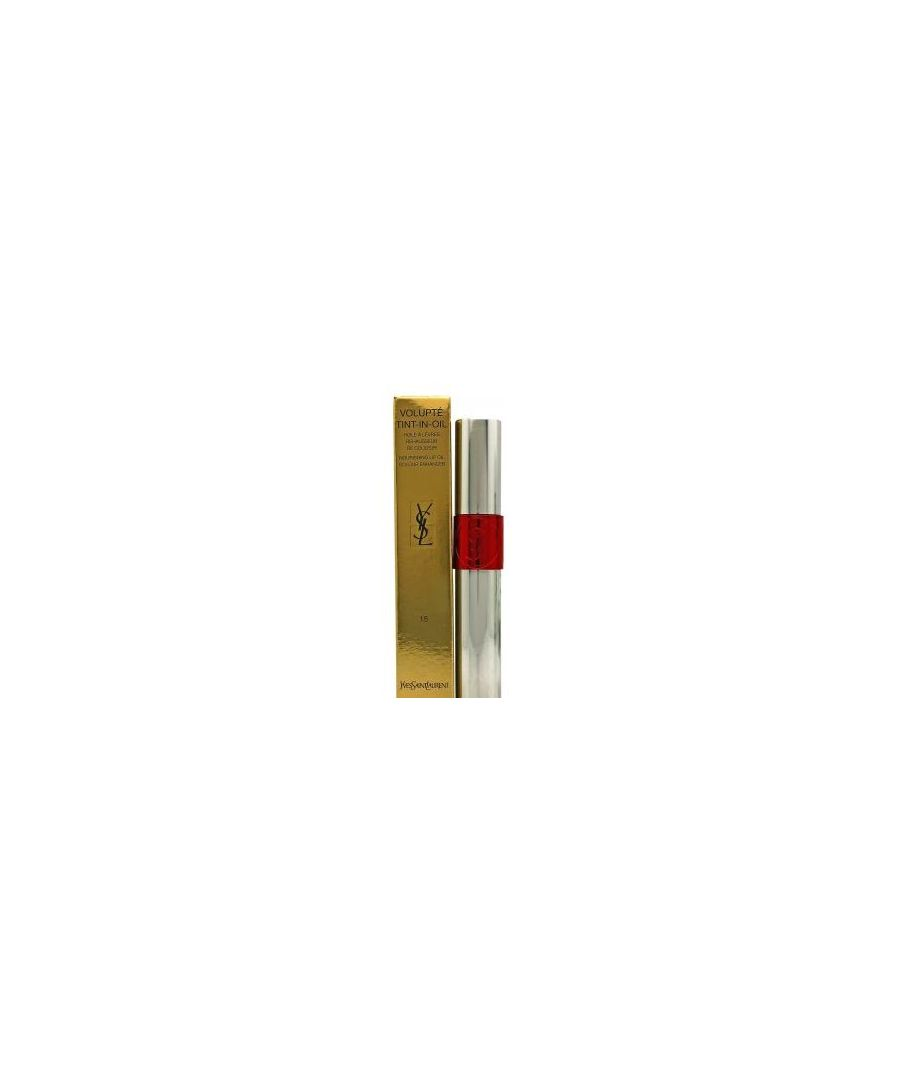 Image for YSL VOLUPTE TINT LIP OIL 15 RED MY LIPS 6ML