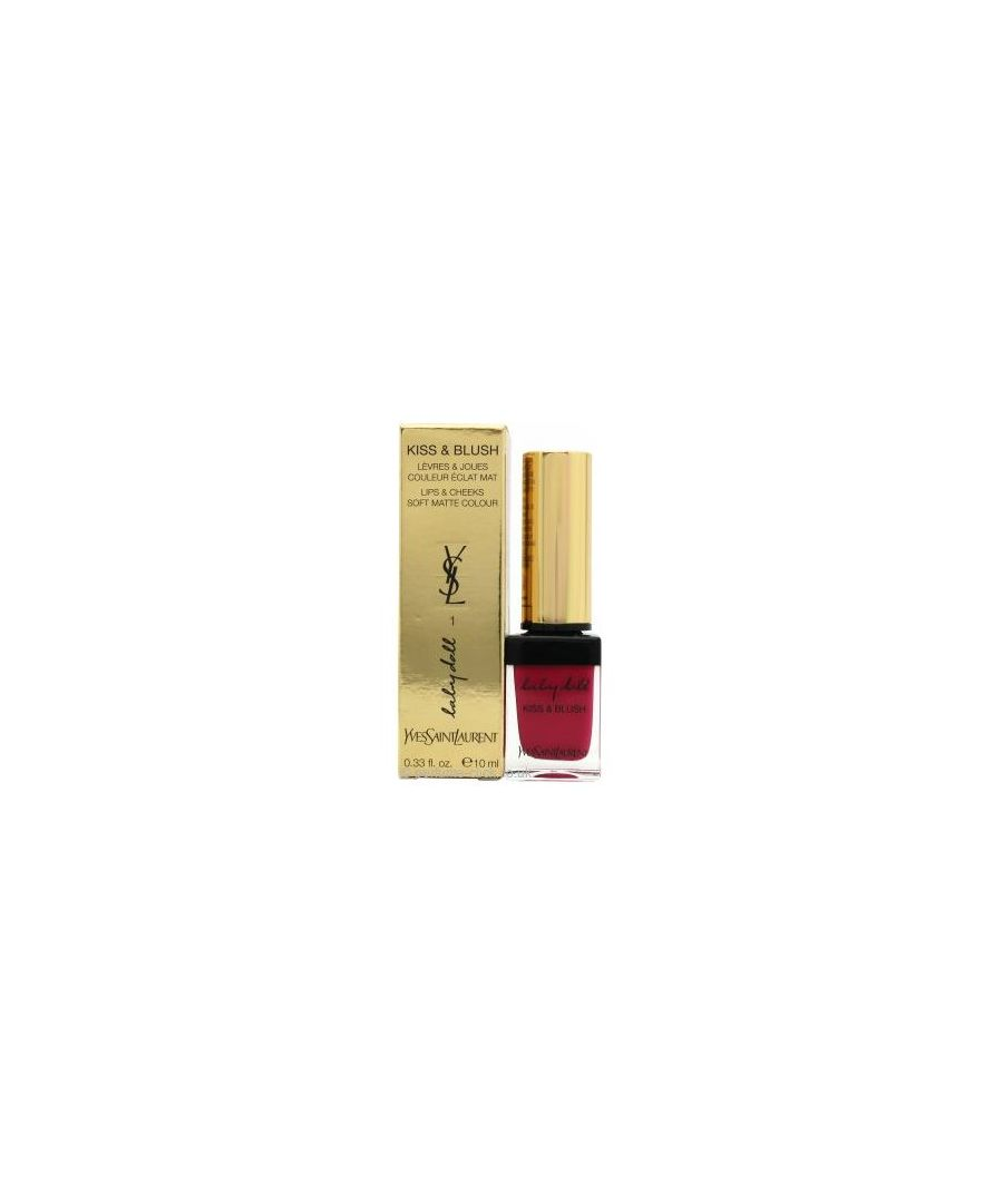 Image for YSL BABY DOLL KISS & BLUSH 01 FUCHSIA DESINVOLTE 10ML