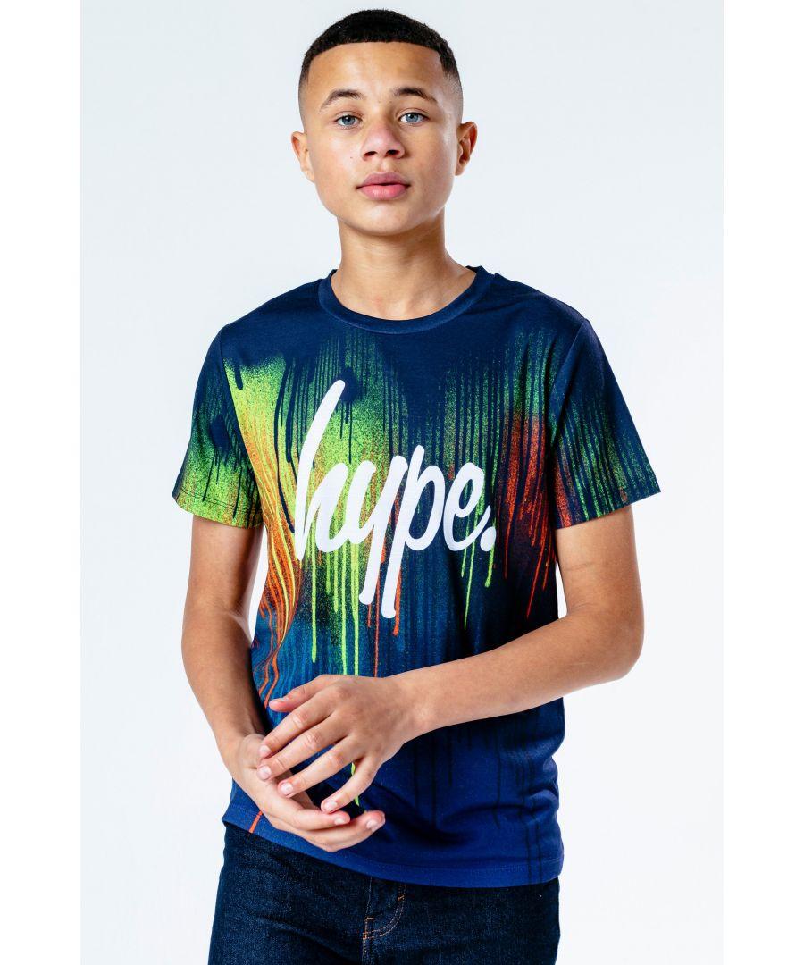 Image for Hype Ocean Drips Kids T-Shirt