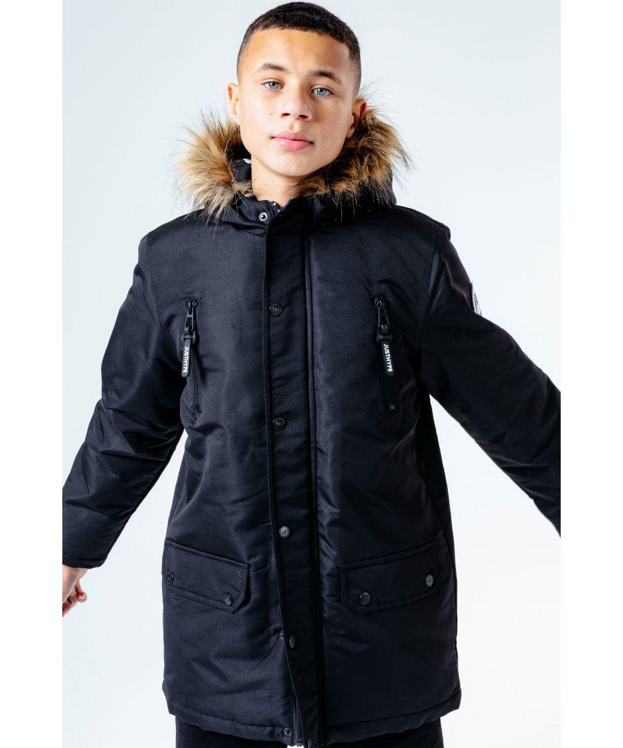 Image for Hype Black Parka Kids Jacket