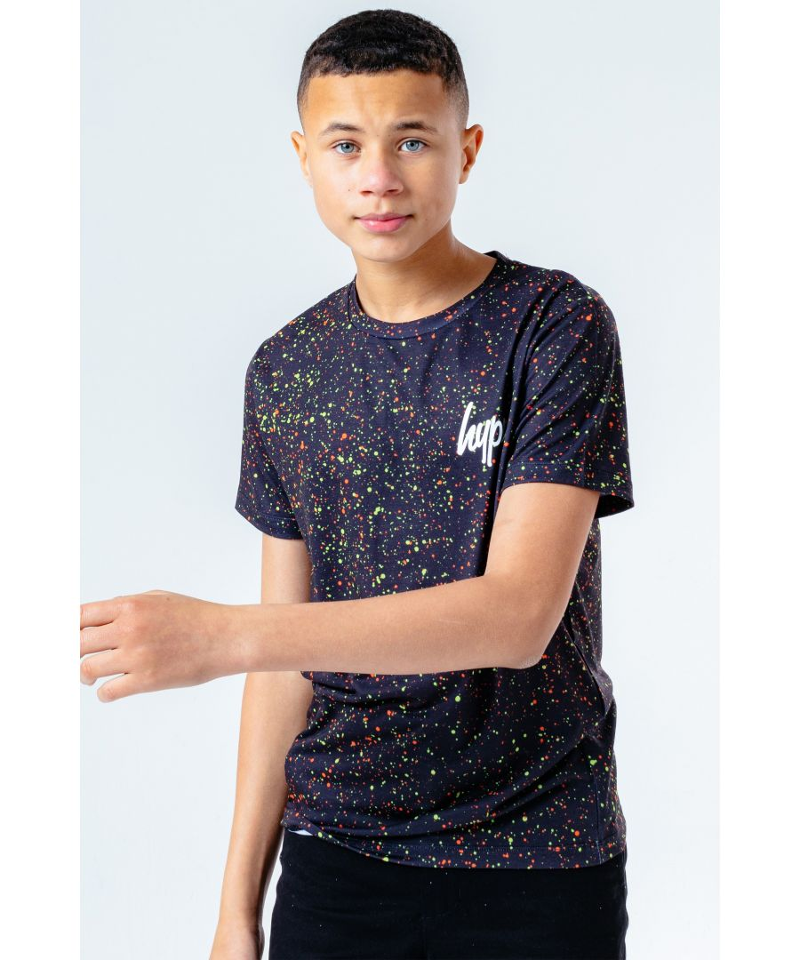 Image for Hype Neon Splat Kids T-Shirt