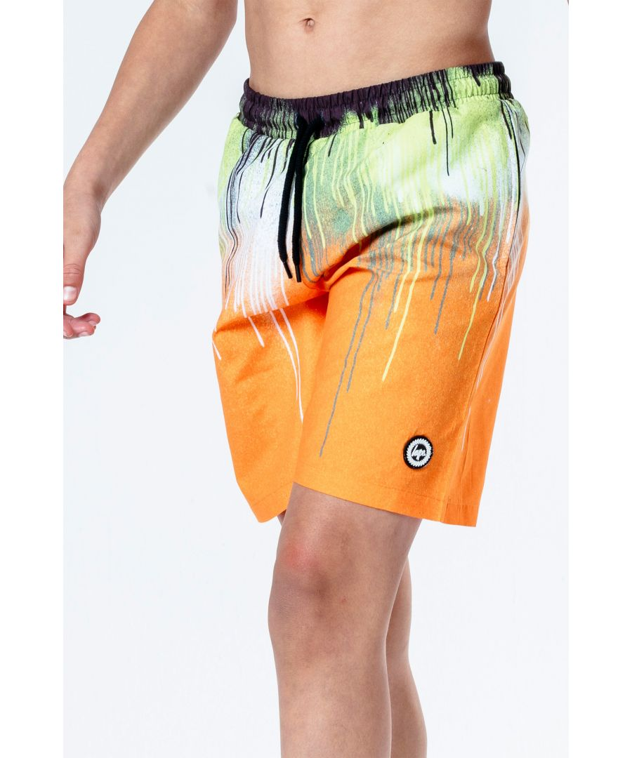 Image for Hype Slime Drips Kids Swim Shorts