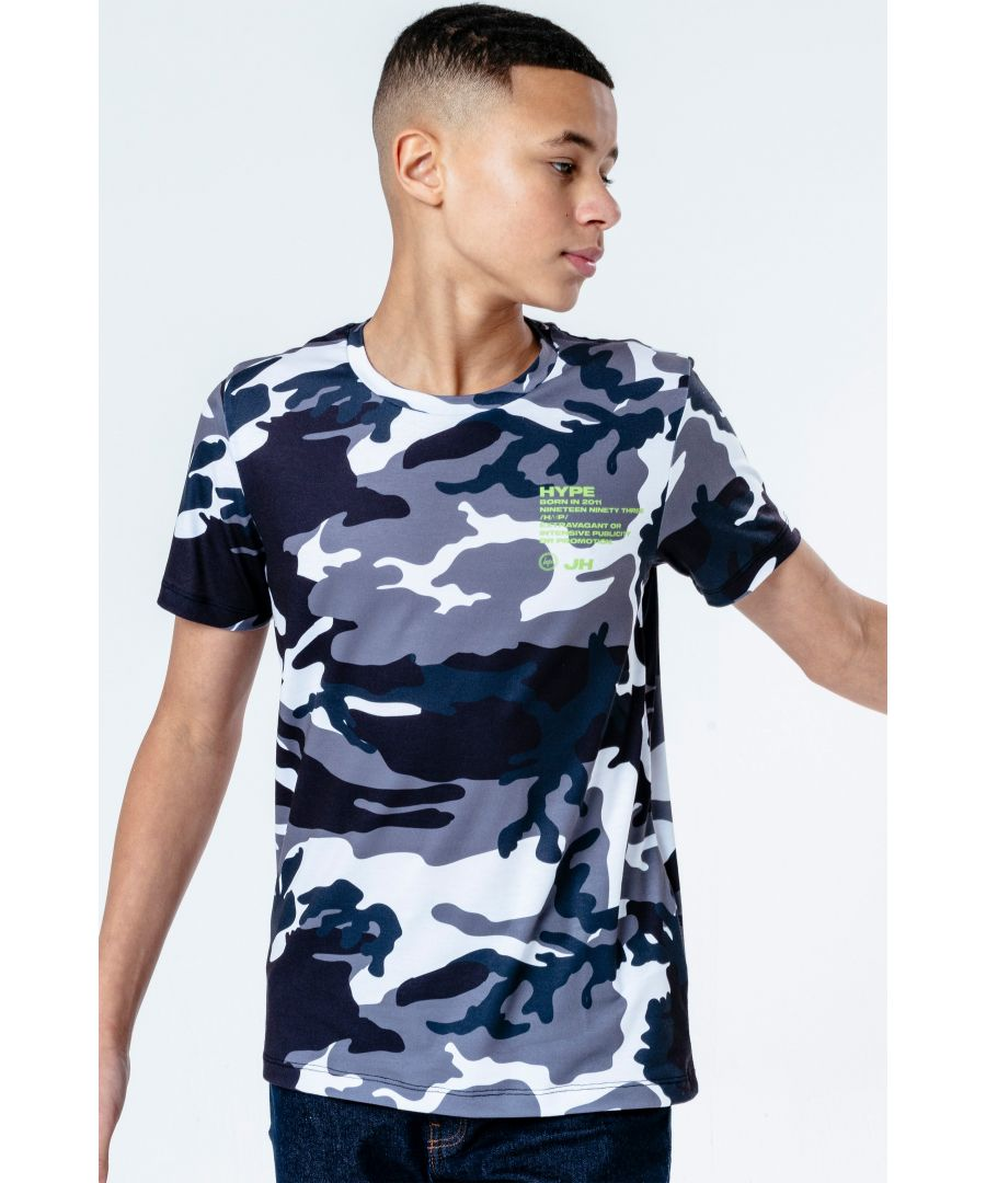 Image for Hype Utility Camo Kids T-Shirt