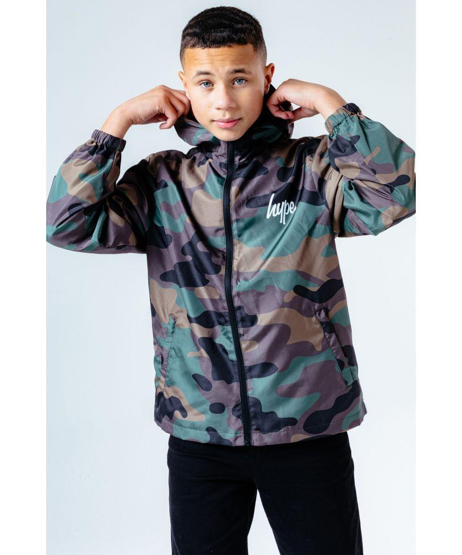 Image for Hype Camo Runner Kids Jacket