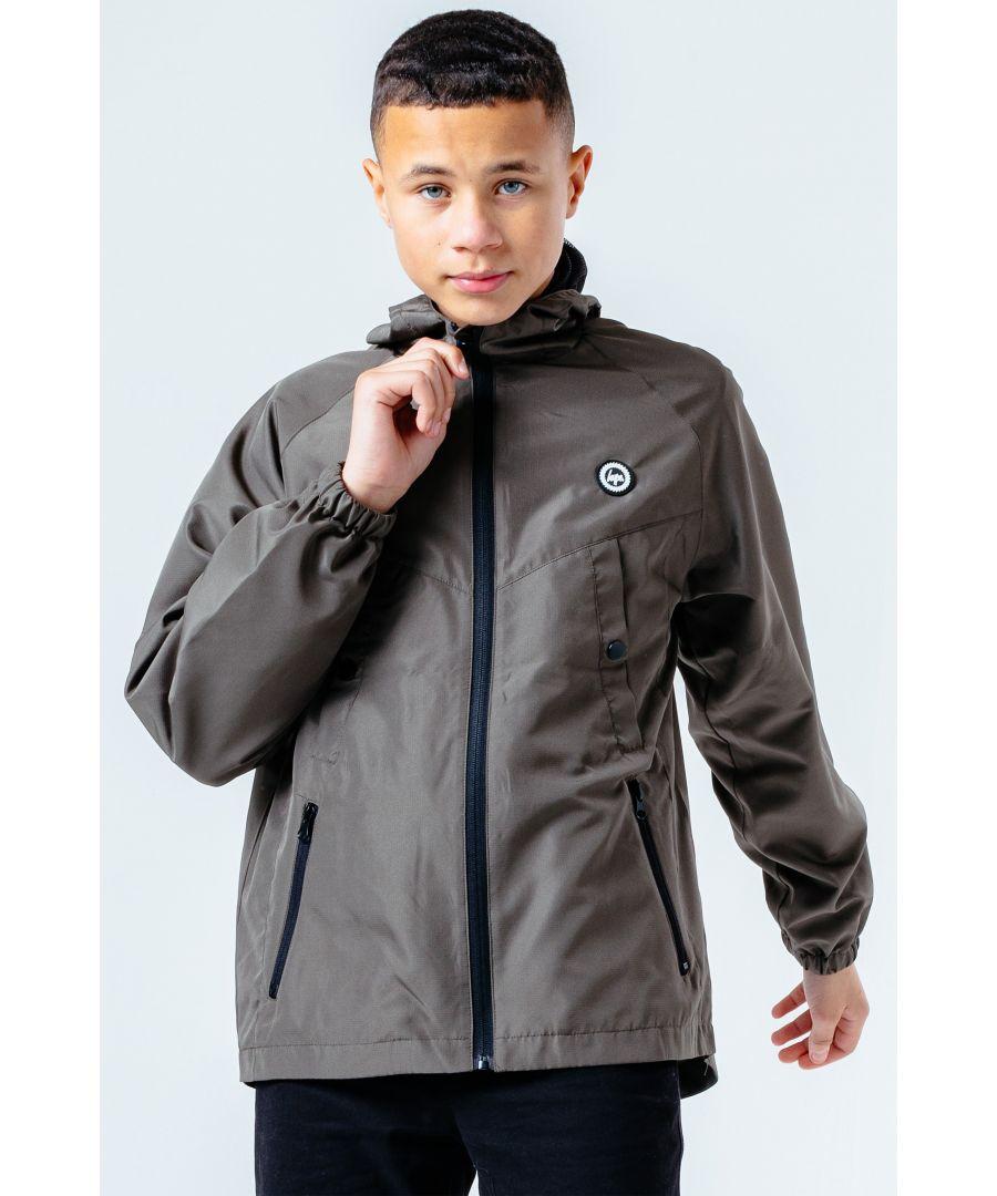 Image for Hype Khaki Tech Kids Jacket