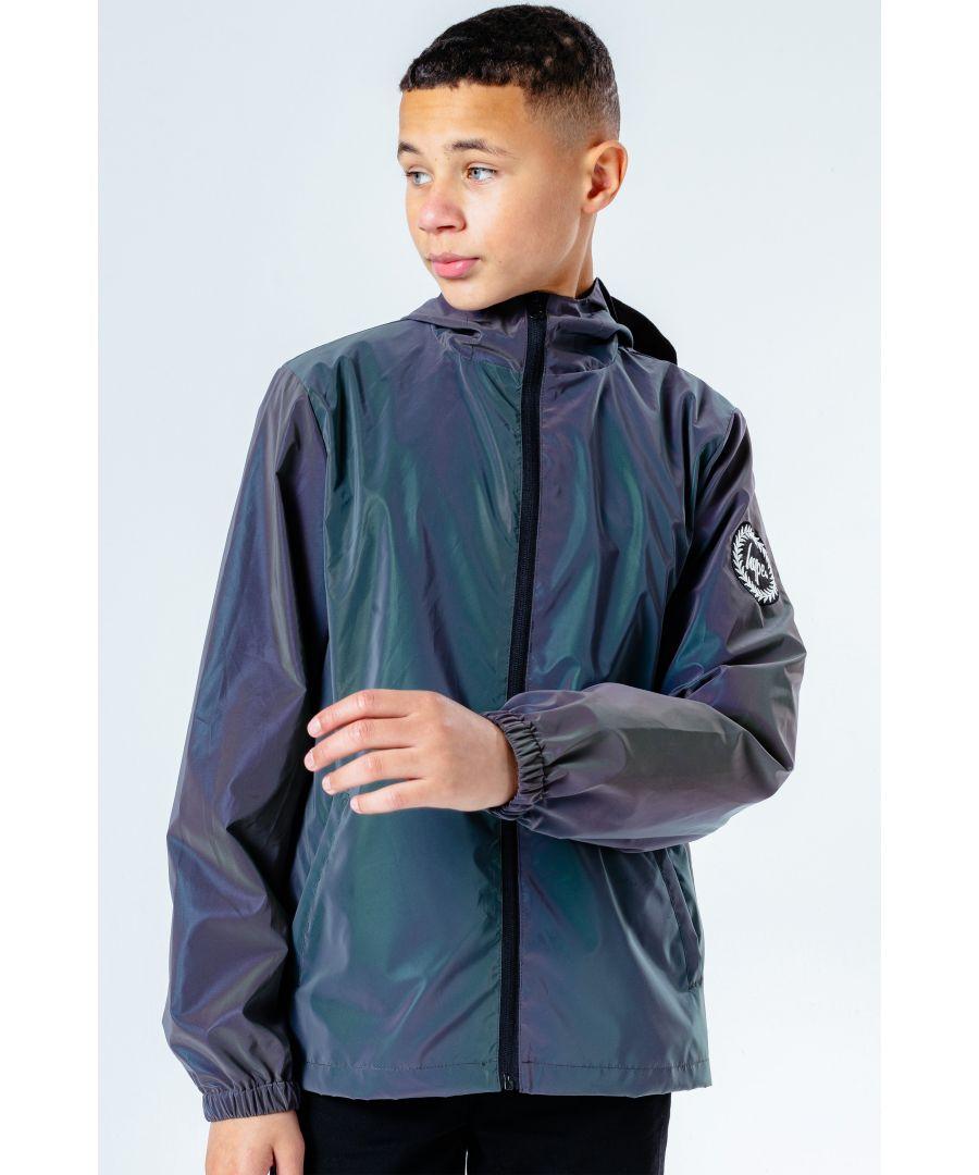 Image for Hype Iridescent Runner Kids Jacket