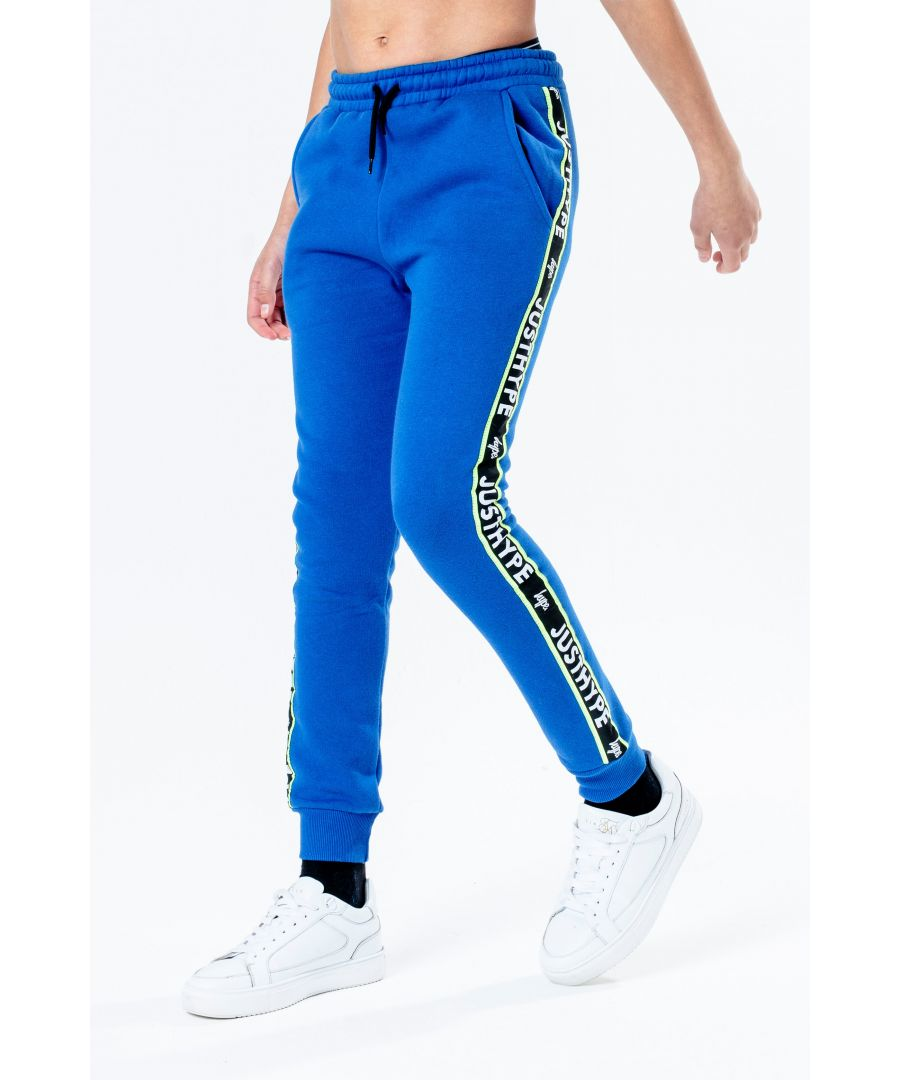 Image for Hype Royal Jh Tape Kids Joggers