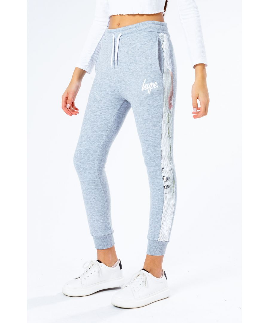 Image for Hype Silver Sequin Kids Joggers
