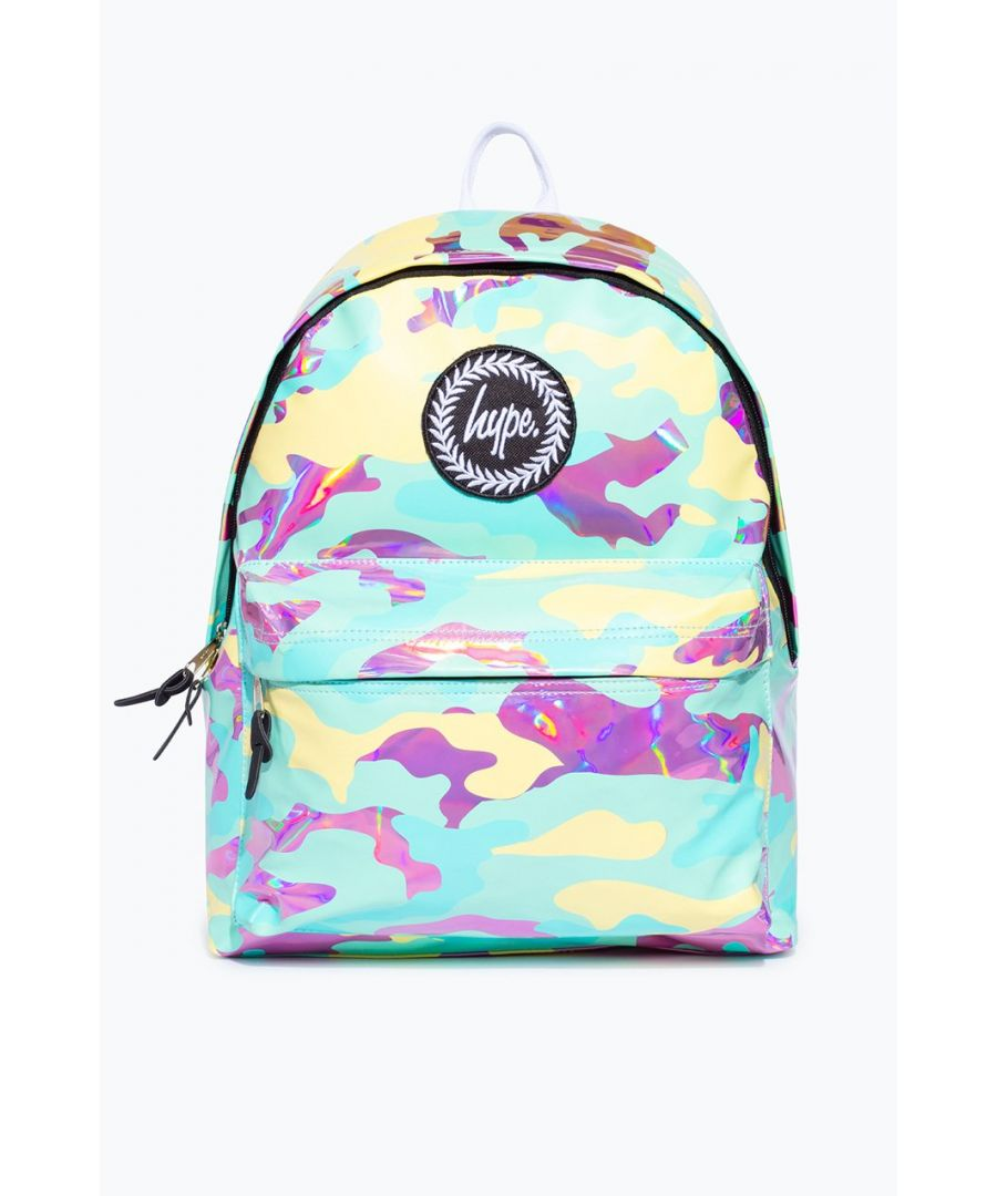 Image for Hype Pastel Holo Camo Backpack