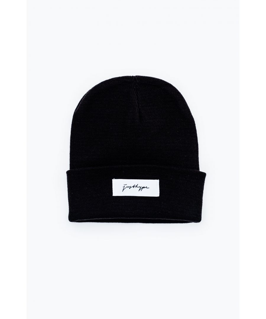 Image for Hype Black Signature Beanie