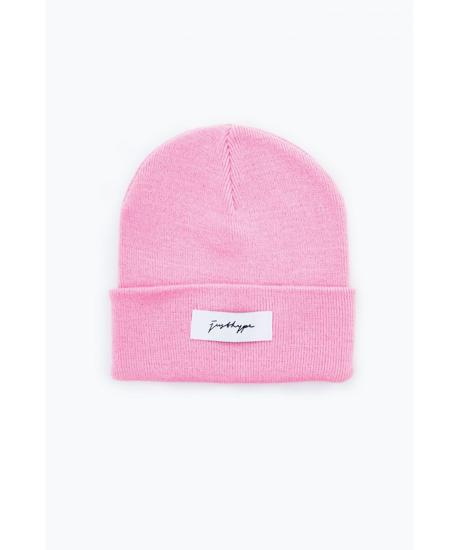 Image for Hype Pink Signature Beanie