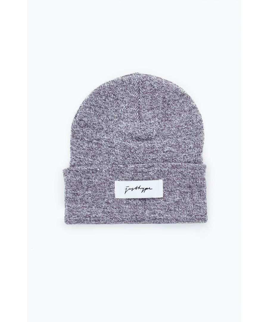 Image for Hype Grey Signature Beanie