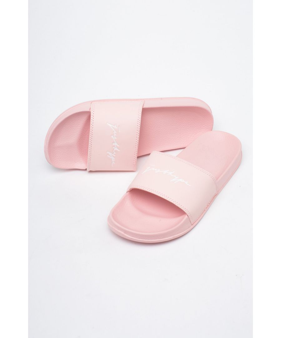 Image for Hype Pink Signature Women's Sliders