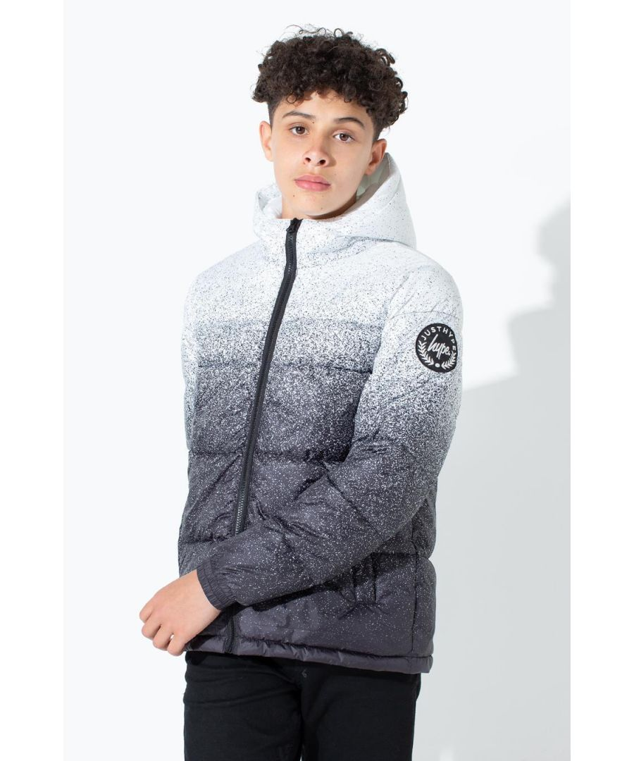 Image for Hype Speckle Fade Kids Puffer Jacket