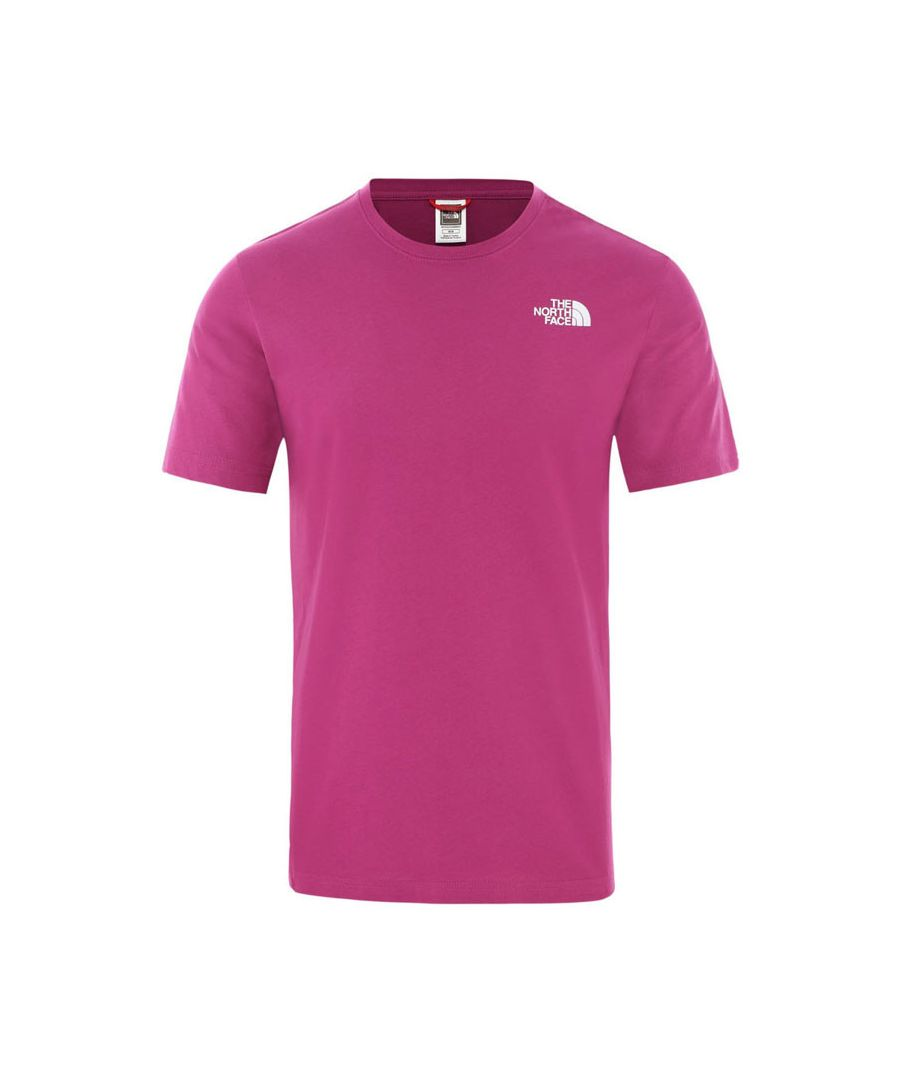 Image for The North Face Men's Redbox Tee, Wild Aster Purple