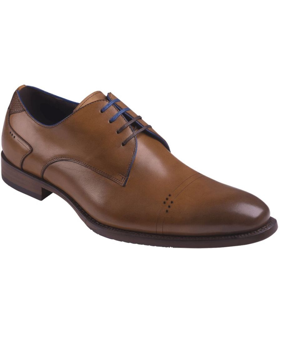 Image for Salermo Brown Oxford shoe