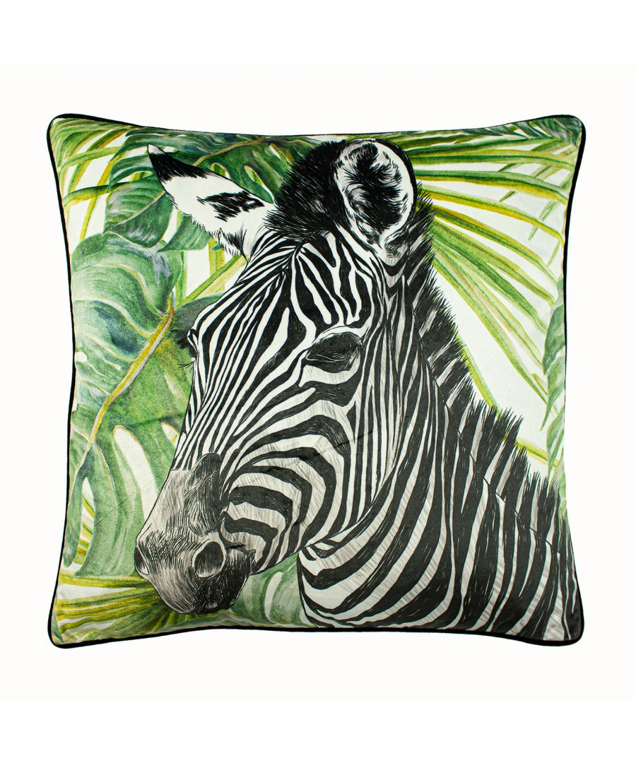 Image for Zebra Jungle Cushion