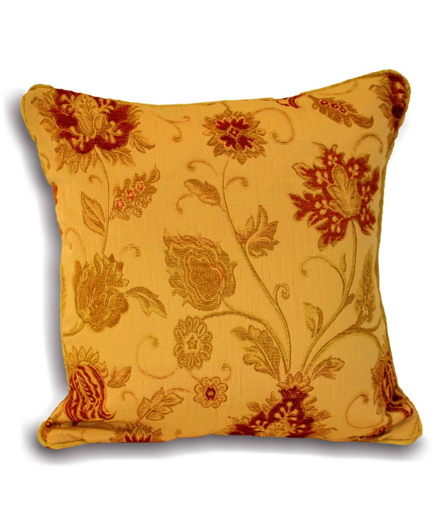 Image for Zurich Poly Cushion 55X55 Gold