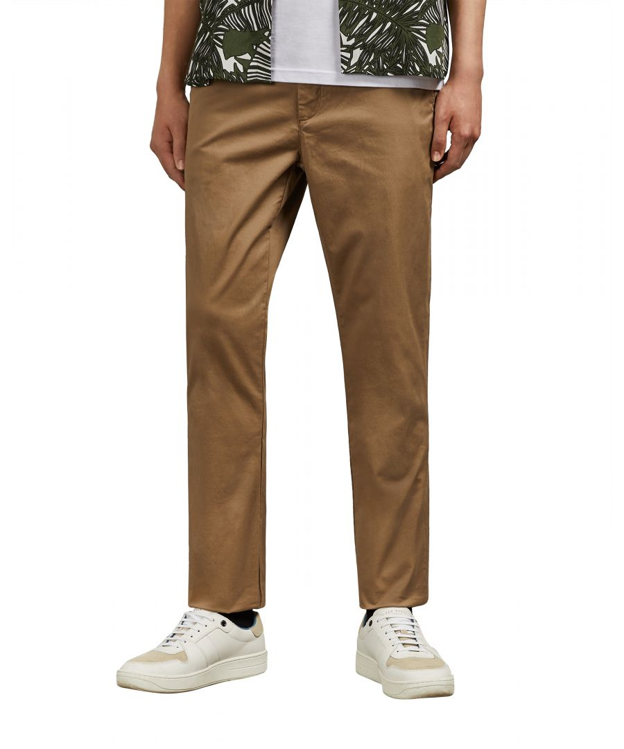 Image for Clenchi Classic Fit Chino in Natural