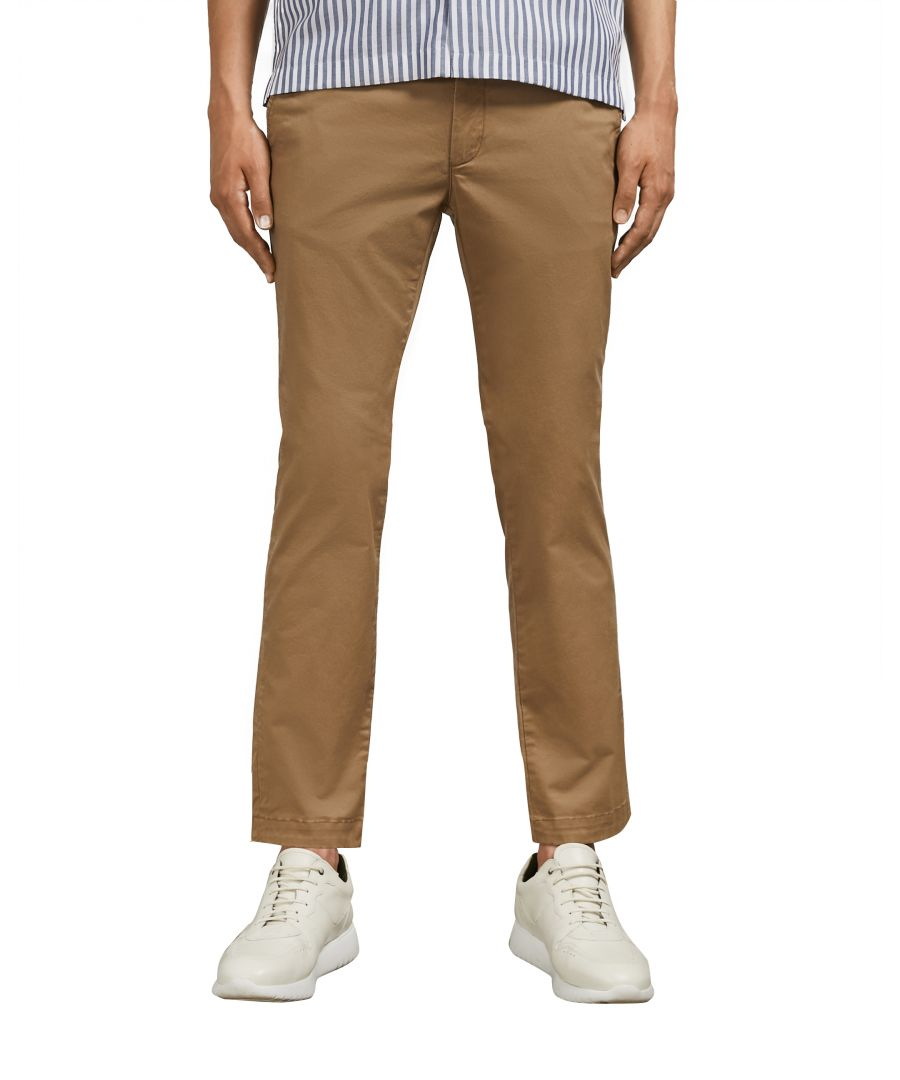 Image for Seenchi Slim Fit Chino in Natural